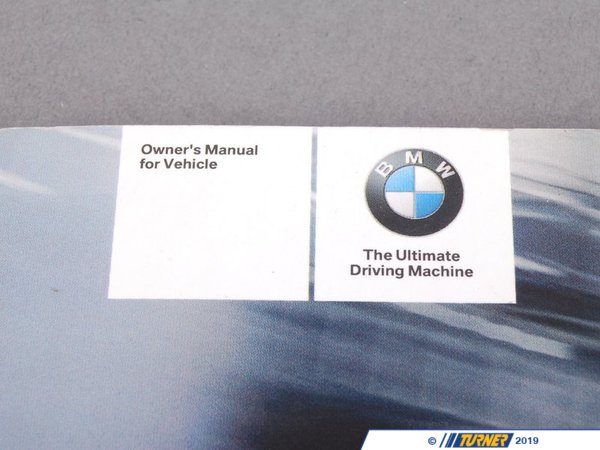 T#26583 - 01410159259 - Genuine BMW Owner's Handbook E90 With Idrive - 01410159259 - E90 - Genuine BMW -