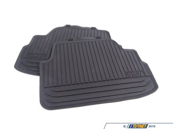 T#178849 - 51472239698 - Genuine BMW Floor Mats, All-weather, Rea - 51472239698 - Genuine BMW -