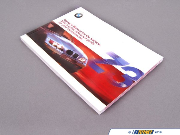 T#26330 - 01410002676 - Genuine BMW Owner's Handbook Z3 E36/7 - 01410002676 - Genuine BMW -