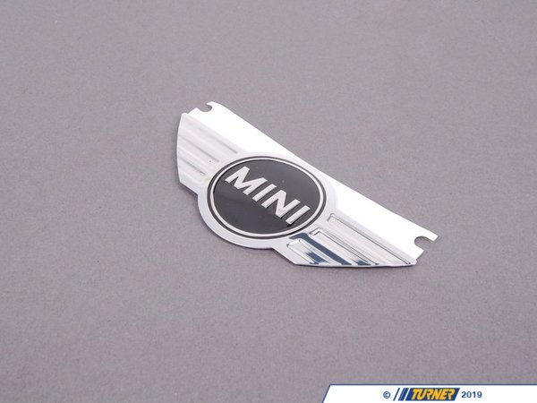 T#31532 - 11127594876 - Genuine MINI Emblem Adhered Mini - 11127594876 - Genuine Mini -