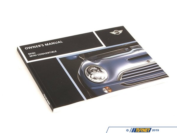 T#6349 - 01410159134 - Genuine MINI Owner's Handbook R50, R52, R 01410159134 - Genuine Mini -