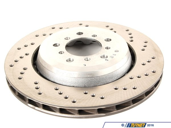 T#13540 - 34112282446 - Genuine BMW Brake Disc, Ventilated, Righ 34112282446 - Genuine BMW -