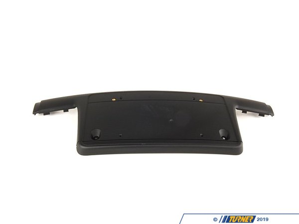 T#8366 - 51117030593 - Front License Plate Bracket - E46 Sedan / Wagon 2002-2005 - Genuine BMW - BMW