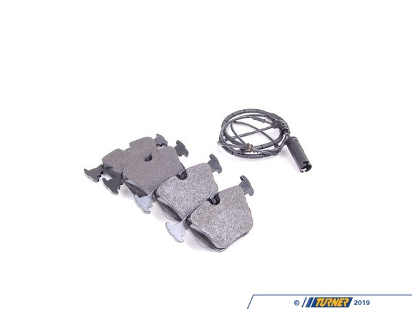 T#20875 - 34212157576 - Genuine BMW Set Of Brake Pads With Wear 34212157576 - Genuine BMW -