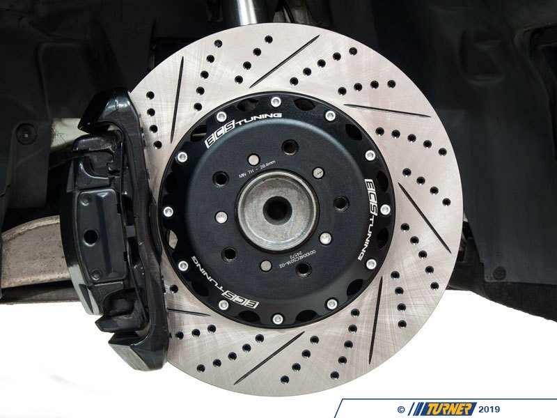 001004ecs01akt Ecs 2 Piece Front Brake Rotors Pair
