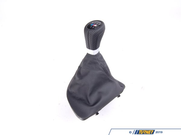 Genuine BMW Genuine BMW Black Leather Shift Knob - 25118037304 25118037304
