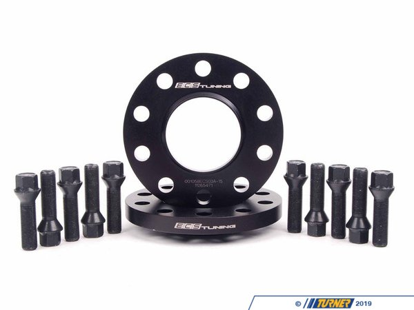 T#369555 - ECS#255KTWB - ECS Tuning Wheel Spacer & Bolt Kit - 72.6mm CB - ECS - BMW