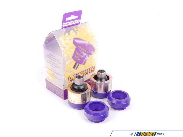 Powerflex Performance Polyurethane Rear Lower Control Arm Bushings - E82,  E88, E90, E91, E92, E93