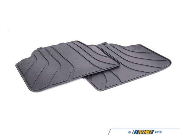 T#181636 - 51472336599 - Genuine BMW Floor Mats, All-weather, Rea - 51472336599 - Genuine BMW -