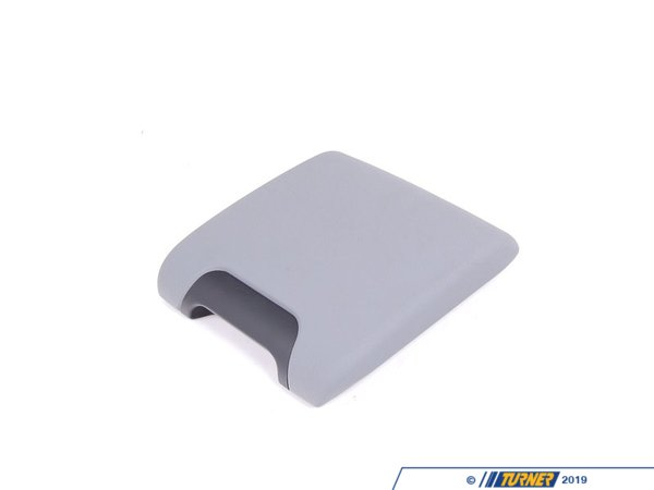 T#21017 - 51167140688 - Genuine BMW Center Arm Rest, Imitation L 51167140688 - Grau - Genuine BMW -