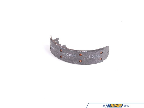 T#62045 - 34211159580 - Genuine BMW Brake Shoe Asbestos-Free 200mm Jurid 580 - 34211159580 - Genuine BMW -