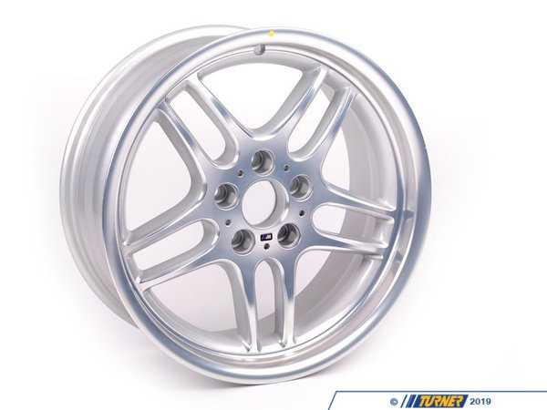 T#8197 - 36112229730 - 18x8.0 ET13 M Parallel Wheel - Genuine BMW -