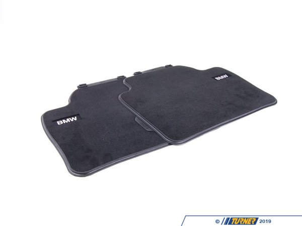 T#24093 - 51472293353 - Genuine BMW Floor Mats, Textile, Rear - 51472293353 - Genuine BMW -