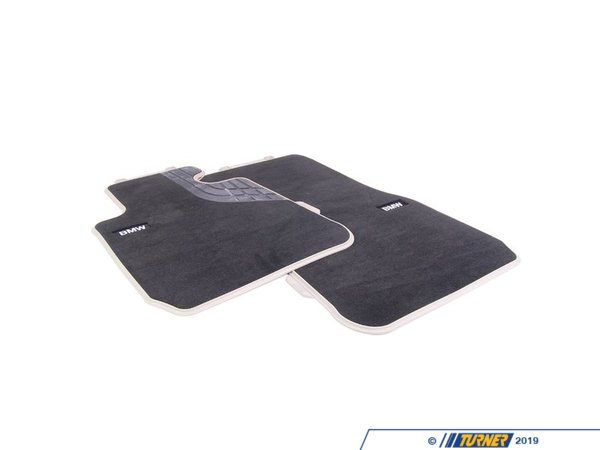 T#24096 - 51472293360 - Genuine BMW Floor Mats, Fabric, Modern, F - 51472293360 - Genuine BMW -