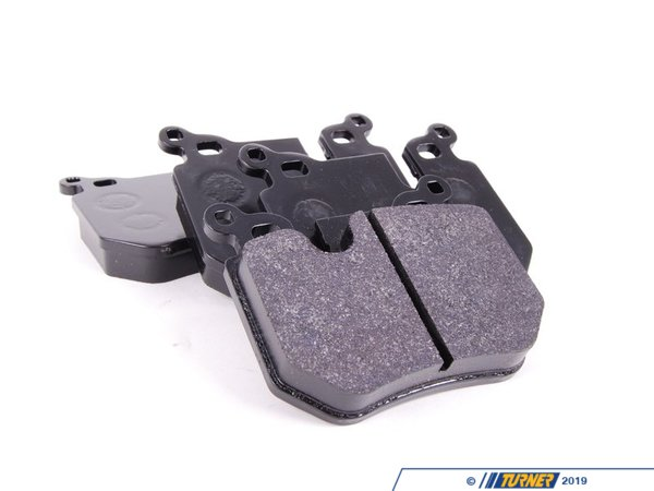 Hawk Hawk HP Plus Brake Pads - Rear - E82/E88 135i 2008+ TMS1789