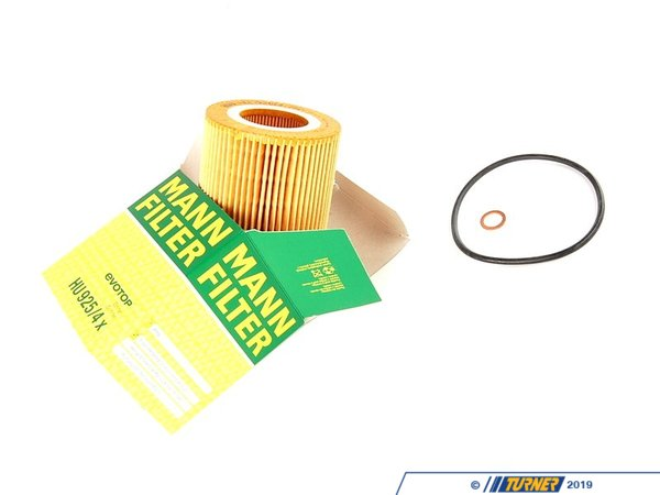Mann OEM Oil Filter - E36 E46 E39 E60 X3 X5 Z3 Z4 - M52 M54 engine 11421427908
