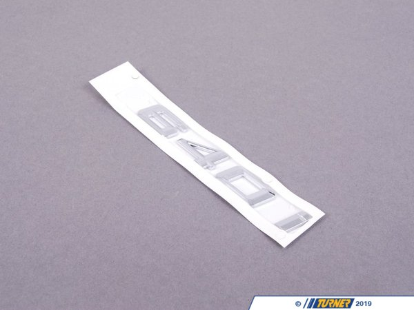 T#175112 - 51147363743 - Genuine BMW Label - 640I - 51147363743 - F06,F12,F13 - Genuine BMW -