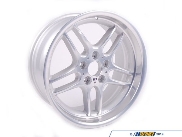 T#13625 - 36112229640 - Genuine BMW Alloy Rim Forged 9Jx18 Et:24 - 36112229640 - E39 - Genuine BMW -