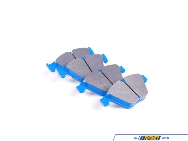 T#2019 - TMS2019 - Hawk Blue Racing Brake Pads - Front - E9X 335, E9X M3 - Hawk - BMW