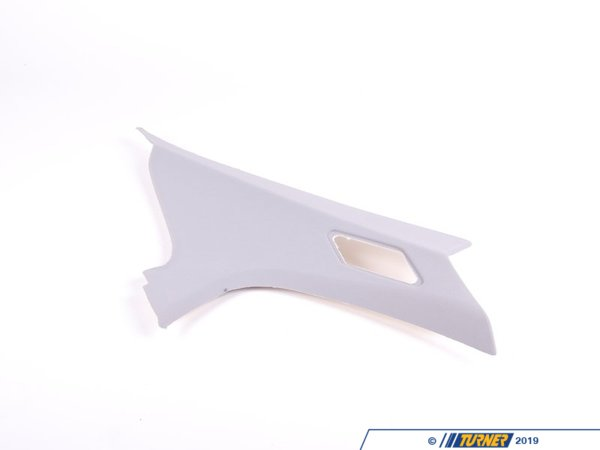 T#9782 - 51438225575 - Genuine BMW Cover Column C Left Hellgrau - 51438225575 - E46 Sedan - Genuine BMW - BMW
