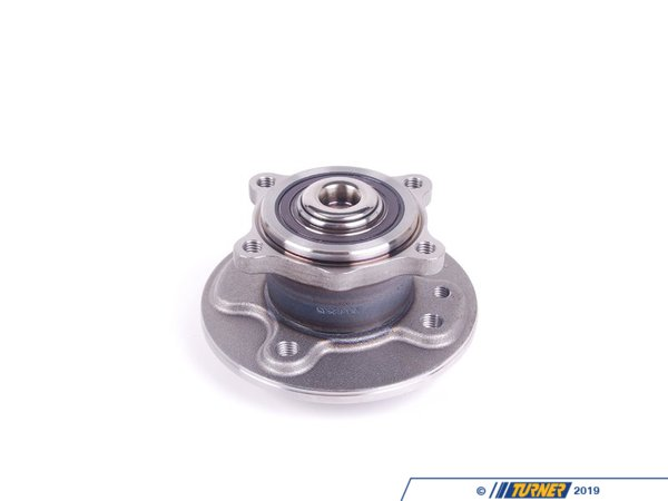 T#142 - 33416756830 - Rear Wheel Bearing / Wheel Hub - Cooper & Cooper S (2001-06/2006) - Replacement rear wheel hub assembly, with rear wheel bearing for all MINI Cooper and MINI Cooper S. This wheel bearing will fit all 2001, 2002, 2003, 2004, and 2005 MINIs, as well as 2006 MINIs produced up to (and including) 06/2006. You can find your production date on the driver's side door jamb. If your MINI was produced 07/2006 or newer than your MINI uses the newer style 14x1.25mm wheel bolts (the same as the 2007 and newer MINI Cooper and Cooper S). We recommend replacing the bolts that secure the bearing assembly to the trailing arm #33306772430This item fits the following MINIs:2002-06/2006  R50 MINI MINI Cooper2005-06/2006  R52 MINI MINI Cooper Convertible, MINI Cooper S Convertible.2002-06/2006  R53 MINI MINI Cooper S - Febi - MINI