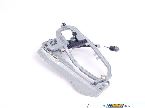T#2913 - 51218243615 - Door Handle Carrier Front Left - E53 X5 - NOW LOCATED UNDER T#338178This item fits the following BMWs:2000-2006  E53 BMW X5 3.0i X5 4.4i X5 4.6is X5 4.8is - Genuine BMW -