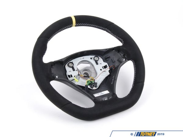 Genuine BMW M Performance Genuine BMW M Performance BMW Performance Steering Wheel - With Yellow Center Line 32302157307
