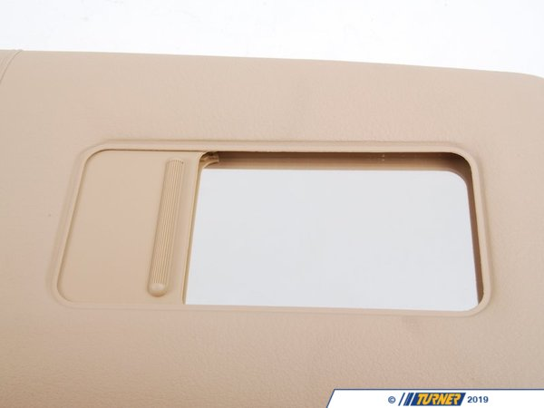 T#12376 - 51168242558 - Genuine BMW Trim Lighted Make-up Sun Visor Ri 51168242558 - Sandbeige - Genuine BMW -