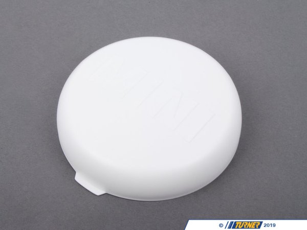 T#24443 - 63120417672 - Genuine MINI Covering Cap Wei? - 63120417672 - weiss - Genuine Mini -