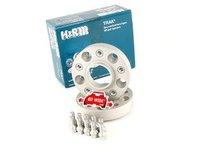 H&R 30mm Bolt-On Wheel Spacers for most BMW 5-Lug (Pair)
