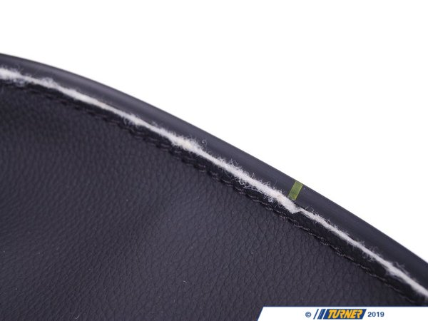 T#122649 - 52106979238 - Genuine BMW Cover Thigh Support Schwarz - 52106979238 - E92 - Genuine BMW -