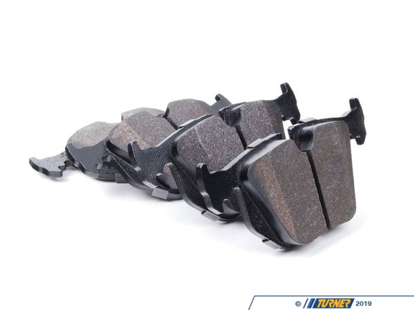 T#25010 - TMS25010 - Hawk HPS Street Brake Pads - Rear - E38, E39, E46, E60, X3, X5, Z4 M, Z8 (see description) - Hawk - BMW
