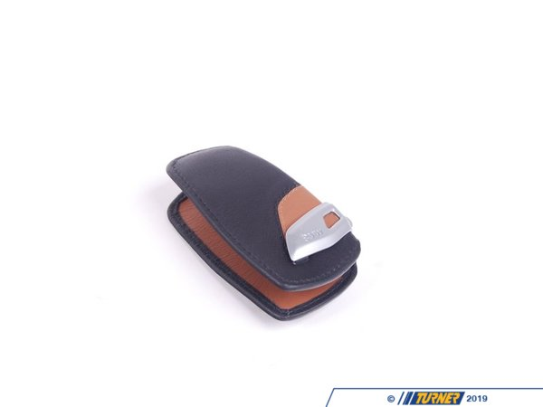 T#179707 - 82292219917 - Genuine BMW Key Case Luxury - 82292219917 - Fb. Sw/Braun - Genuine BMW -