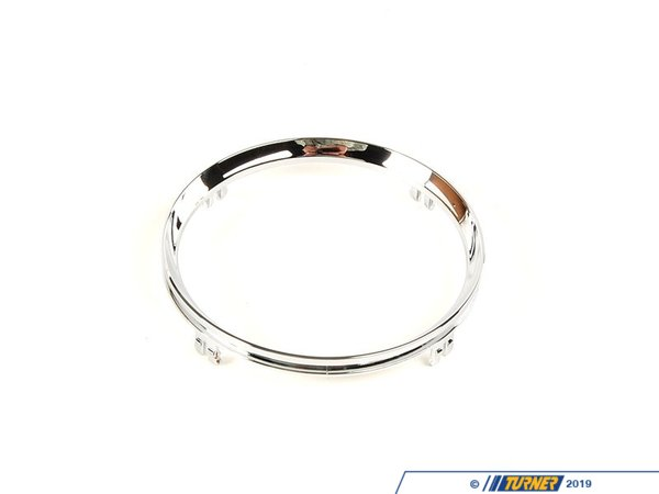 T#82364 - 51162756166 - Genuine MINI Trim Ring, Chrome, Cupholder, Front Chrom - 51162756166 - Genuine Mini -