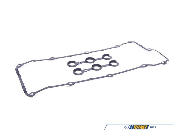 T#1713 - 11120034107 - Valve Cover Gasket Set - M50 VANOS - Original BMW replacement valve cover gaskets, including large cover gasket and spark plug cavity gaskets. Fits M50 (M50TU) engine with VAN0S. This is the OE BMW gasket rather than an OEM or aftermarket brand - we have found the OE gaskets are a better seal than the others.Now located under T#337950This item fits the following BMWs:1993-1995  E36 BMW 325i 325is 325ic1995  E36 BMW M31993-1995  E34 BMW 525i - Genuine BMW -