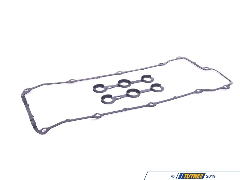T#1713 - 11120034107 - Valve Cover Gasket Set - E36 E34 with M50 VANOS - Genuine BMW -