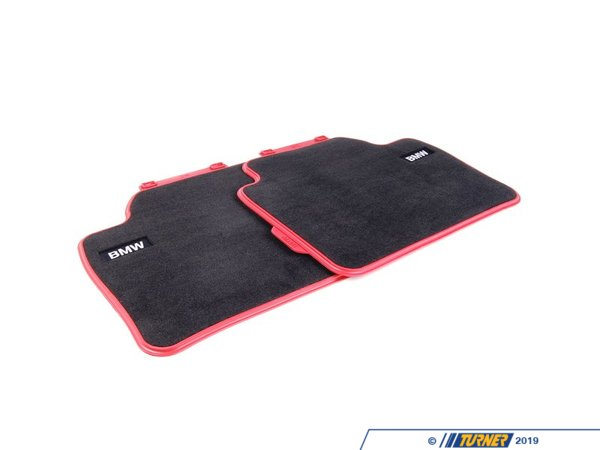 T#24095 - 51472293359 - Genuine BMW Floor Mats, Textile, 'sport, - 51472293359 - Genuine BMW -