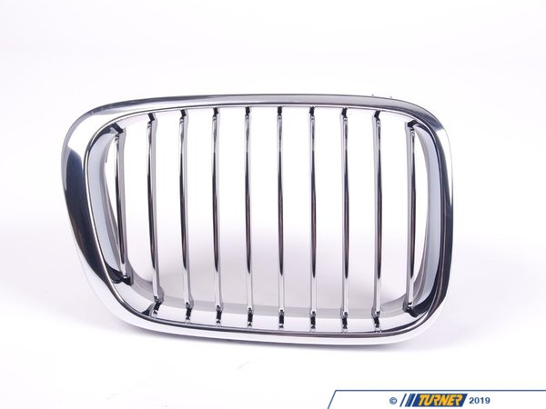 T#8787 - 51138208490 - Genuine BMW Chrome Grill - Right - E46 sedan 1999-2001 - Genuine BMW - BMW