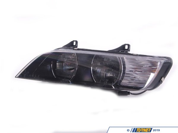 T#10848 - 63128386047 - Genuine BMW Lighting Left Headlight, White Turn I 63128386047 - Genuine BMW -