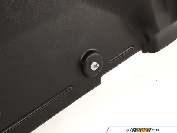 T#10200 - 51718265977 - Engine Splash Panel - E46 325xi 330xi - Genuine BMW - BMW