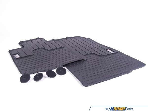 T#110470 - 51472243920 - Genuine MINI Floor Mats, All-weather, Fro - 51472243920 - Genuine Mini -