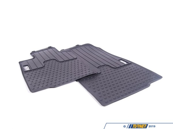 T#110469 - 51472243918 - Genuine MINI Floor Mats, All-Weather, Front Lhd,Mini,Vorn - 51472243918 - Genuine MINI -