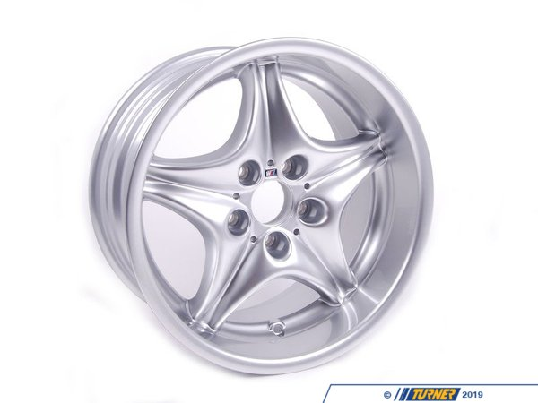 T#23135 - 36112228060 - Genuine BMW Light Alloy Rim 9Jx17 Et: 8 - 36112228060 - Genuine BMW -