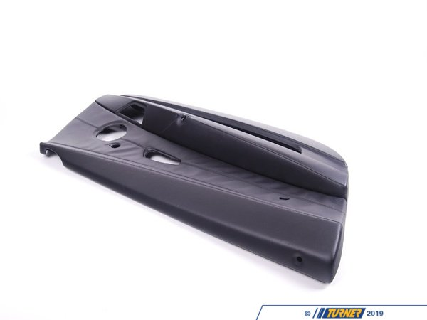 T#96556 - 51417056723 - Genuine BMW Door Lining Leather Left Schwarz - 51417056723 - E85 - Genuine BMW -