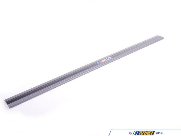T#3806 - 51472230605 - E30 ///M logo Door Sill - Priced Each - Genuine BMW - BMW