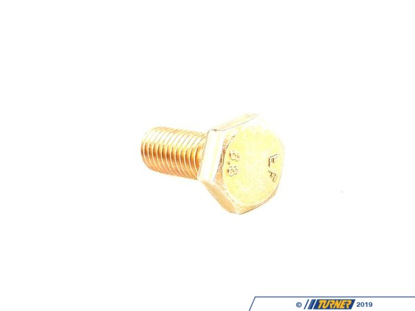 T#28142 - 07119913834 - Genuine BMW Hex Bolt - 07119913834 - E30,E34,E36,E30 M3 - Genuine BMW -