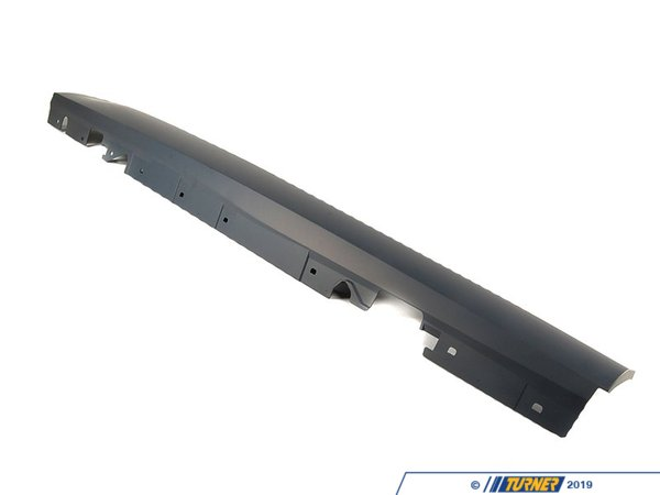T#21209 - 51778045422 - Genuine BMW Primed Right Door Sill Trim 51778045422 - Genuine BMW -