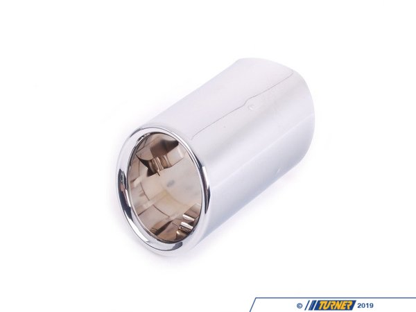 T#48641 - 18307823928 - Genuine BMW Tailpipe Tip, Chrome - 18307823928 - F10 - Genuine BMW -