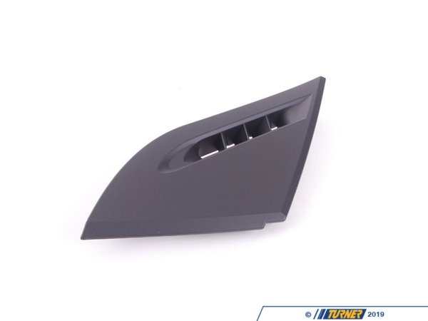 T#107540 - 51457130449 - Genuine BMW Cover, Warm Air Duct, Left Schwarz - 51457130449 - E63 - Genuine BMW -