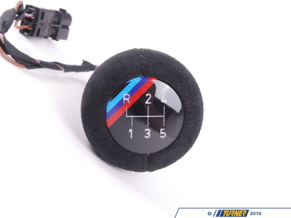 T#52696 - 25112233140 - Genuine BMW Illuminated Leather Shifting - 25112233140 - Genuine BMW -